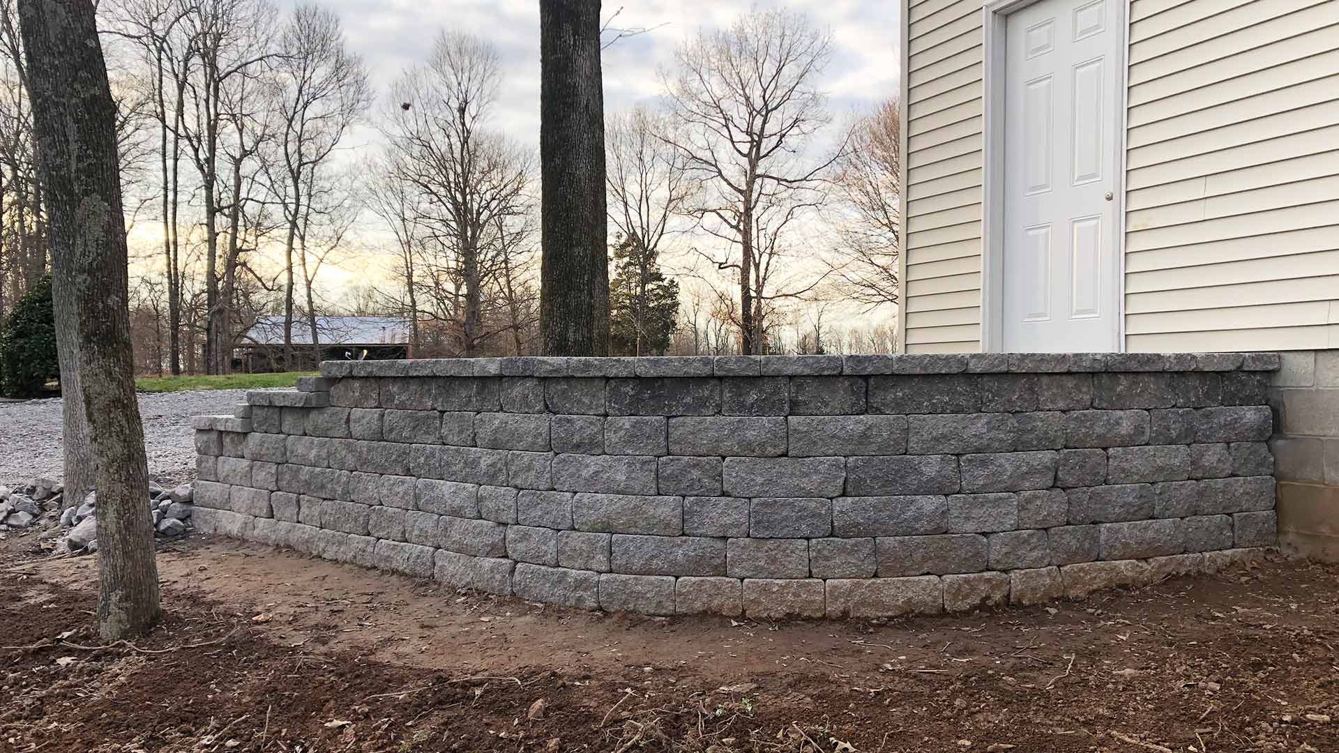 We build retaining walls, stairs, and more with the help of our expert designers and installers.