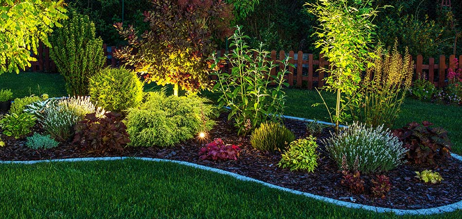 A number of our customers in Murray have hired us to provide outdoor lighting for their landscape beds.