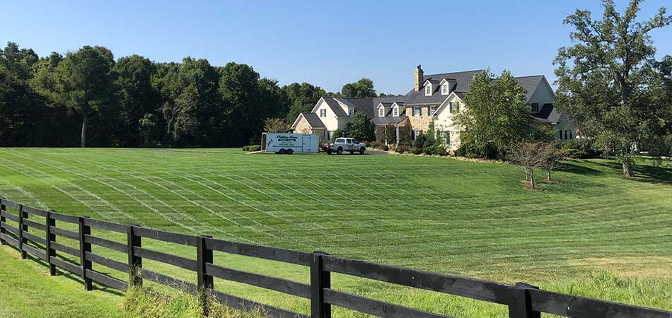 Our team has completed mowing and maintenance services for a large property in Murray.